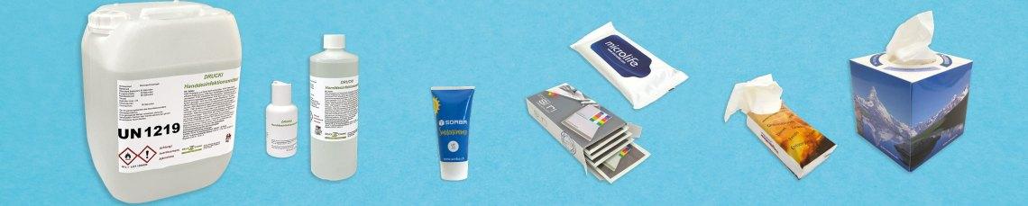 Virenschutz und Hygieneprodukte
