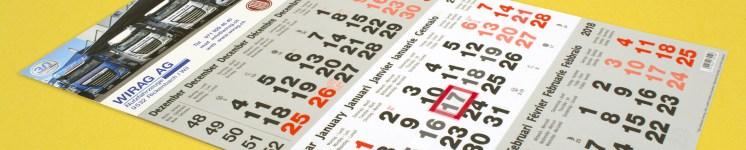 3-Monats-Kalender