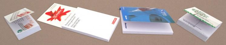 Haftnotiz im Umschlag