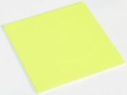 Riesenhaftnotizen brillant gelb