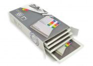 Erfrischungstücher 5er Box 4-farbig bedruckt