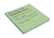 Haftnotizblock FSC Papier 70x75mm