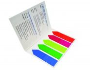 Index Marker im Umschlag Formgestanzt spitzig