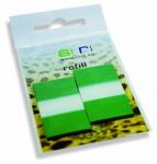 Refills streifen grün
