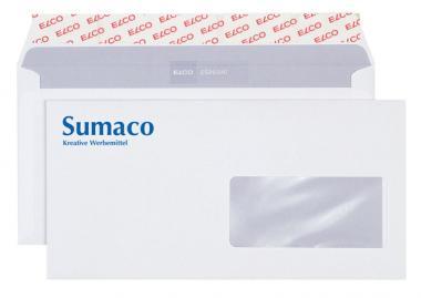 Briefkuverts C5/6 bedruckt - ELCO Fenster rechts