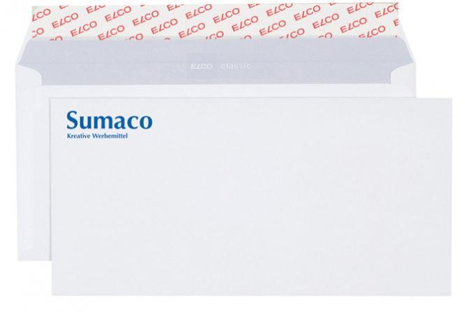 Briefkuverts C5/6 bedruckt - ELCO ohne Fenster