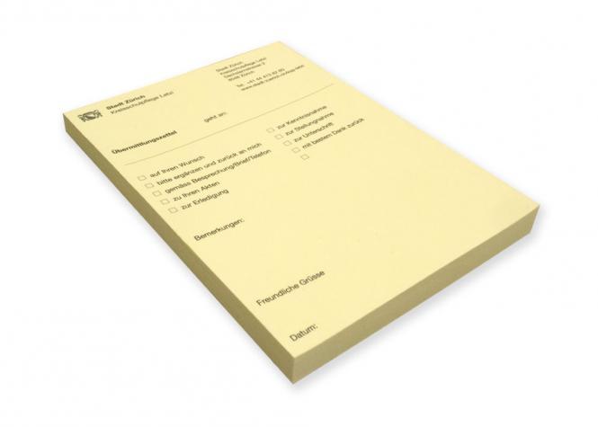 Haftnotizblock FSC Papier 100x150mm