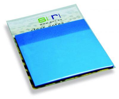 Clear Note blau