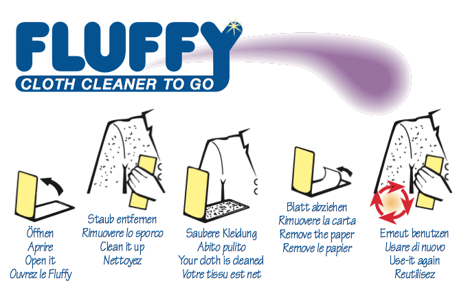 Fluffy Flusenentferner