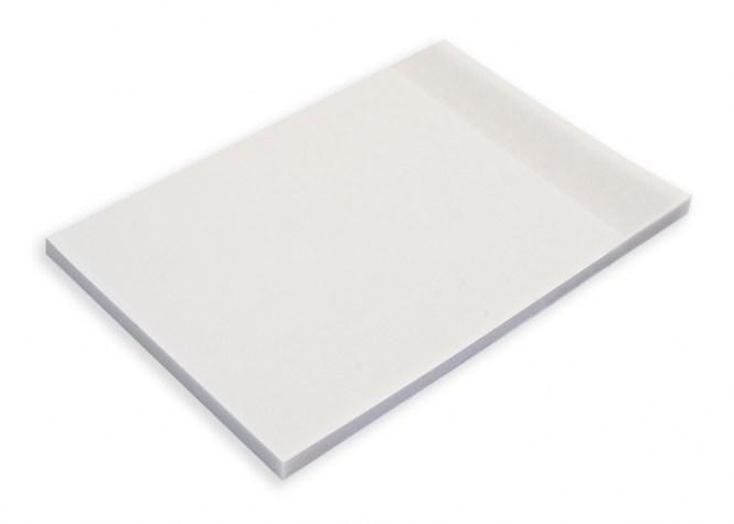 Hafti classic 100x150 mm weiss transparent