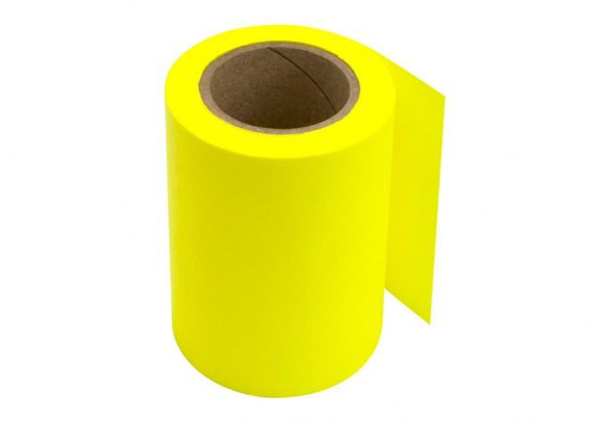 Haftrolle brillant gelb 60mm