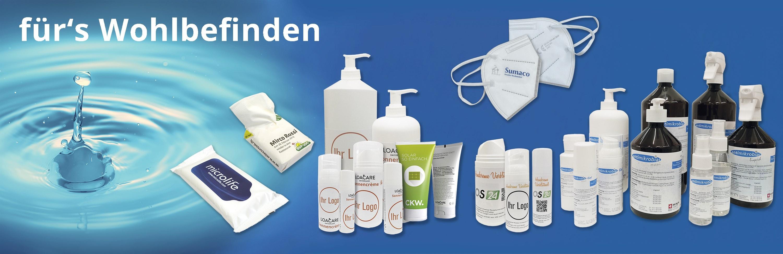 Banner Hygieneprodukte